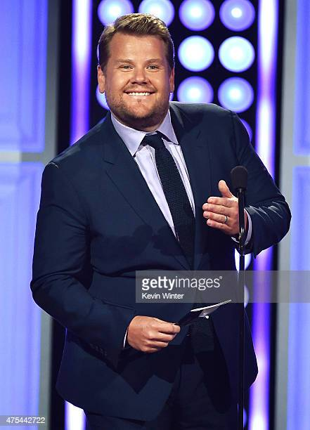 TV personality James Corden speaks onstage at the 5th Annual Critics' Choice Television Awards at The Beverly Hilton Hotel on May 31 2015 in Beverly...