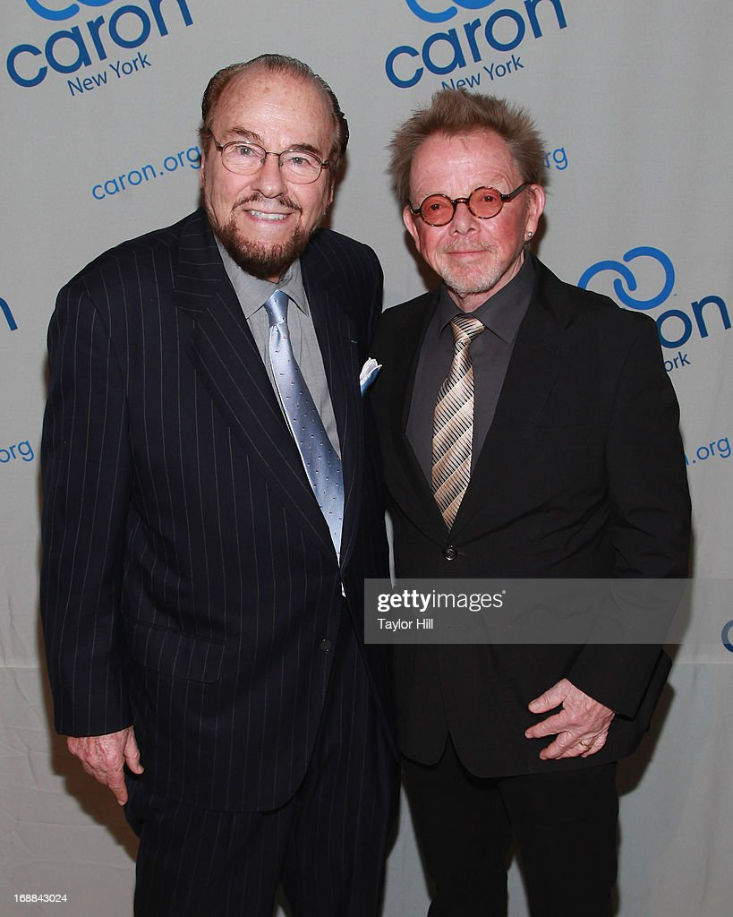 TV personality <a gi-track='captionPersonalityLinkClicked' href=/galleries/search?phrase=James+Lipton&family=editorial&specificpeople=240724 ng-click='$event.stopPropagation()'>James Lipton</a> and singer <a gi-track='captionPersonalityLinkClicked' href=/galleries/search?phrase=Paul+Williams+-+Songwriter&family=editorial&specificpeople=5853768 ng-click='$event.stopPropagation()'>Paul Williams</a> attends the 2013 Caron New York Gala at Cipriani 42nd Street on May 15, 2013 in New York City.