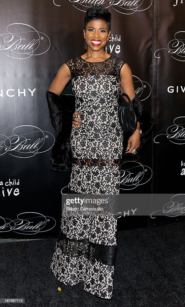 TV personality Jaque Reid attends the 10th annual Keep A Child Alive Black Ball at Hammerstein Ballroom on November 7, 2013 in New York City.