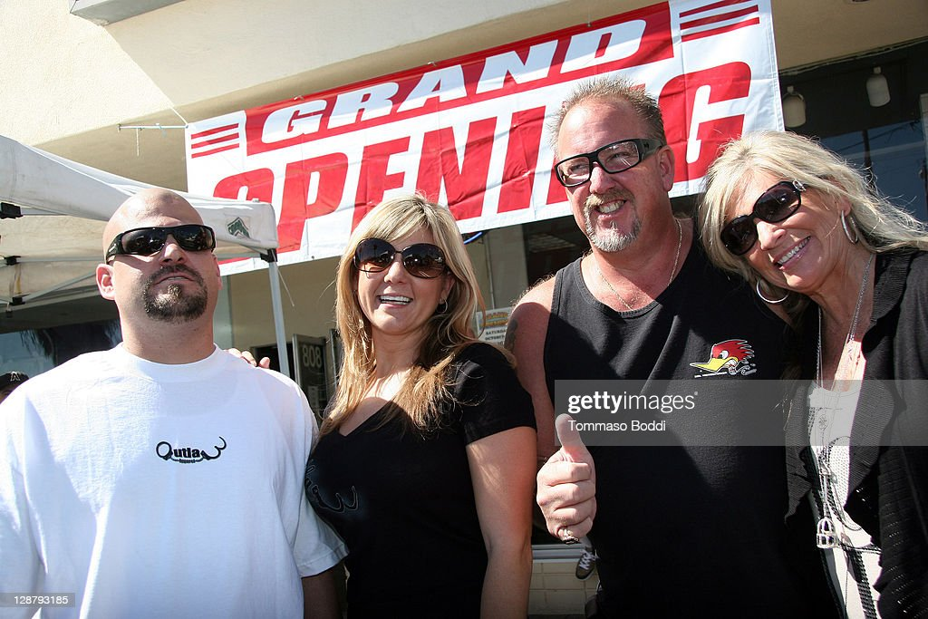 Tv Personality Jarrod Schulz Brandi Pante Darrell Sheets And Guest Attend The Storage