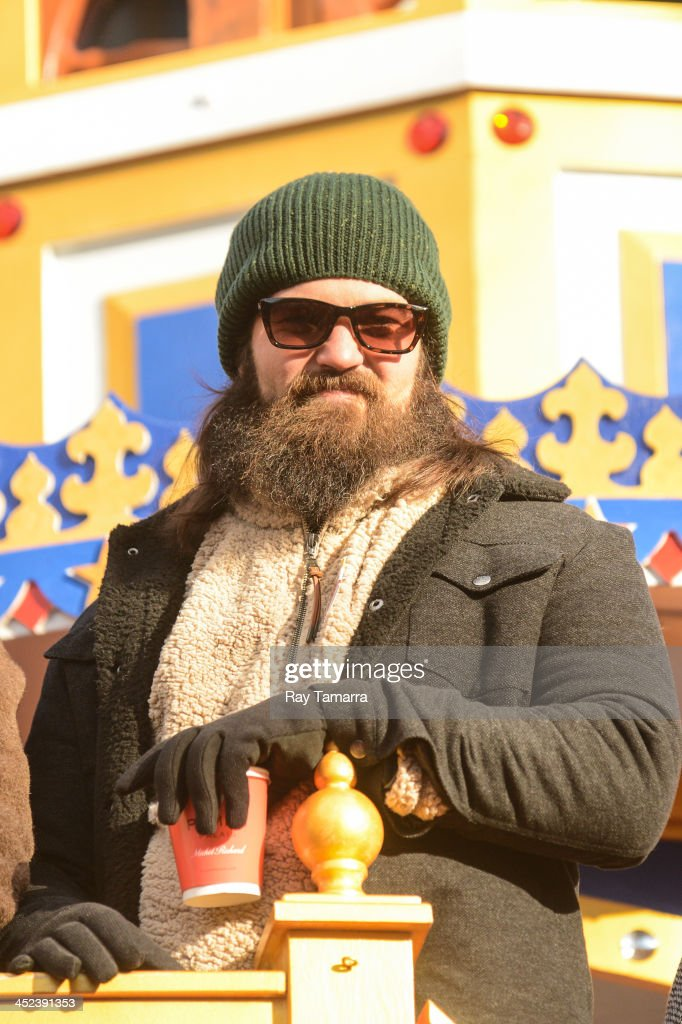 TV personality Jase Robertson attends the 87th Annual Macy's Thanksgiving Day Parade on November 28, 2013 in New York City.