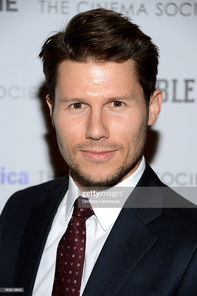 TV personality Jason Dundas attends the Bank of America and Food Wine with The Cinema Society screening of 'A Place at the Table' at Museum of Modern...