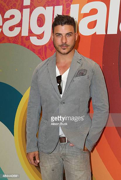 Personality Jax Taylor attends the Kari Feinstein Music Festival Style Lounge at La Quinta Resort and Club on April 12 2014 in La Quinta California