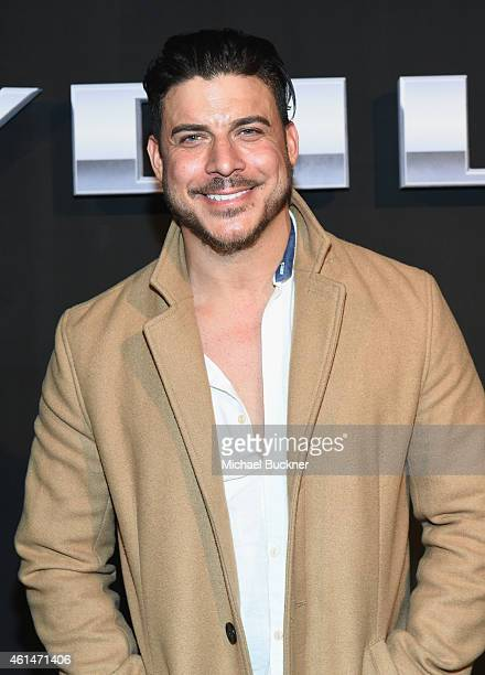 TV personality Jax Taylor attends West Coast Reveal Of The New 2016 Next Generation Chevrolet Volt at Quixote Studios on January 12 2015 in Los...