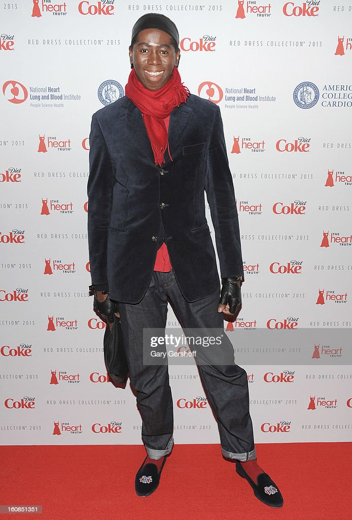 TV personality Jay Alexander attends The Heart Truth's Red Dress Collection during Fall 2013 Mercedes-Benz Fashion Week at Hammerstein Ballroom on February 6, 2013 in New York City.
