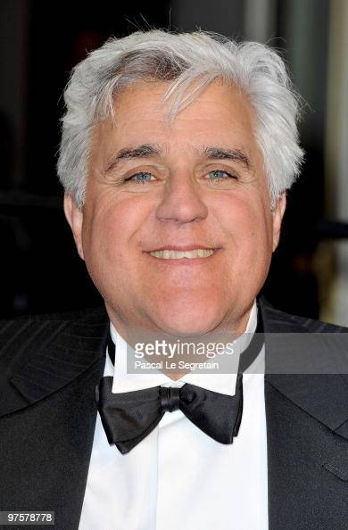 TV personality Jay Leno arrives at the 2010 Vanity Fair Oscar Party hosted by Graydon Carter held at Sunset Tower on March 7 2010 in West Hollywood...