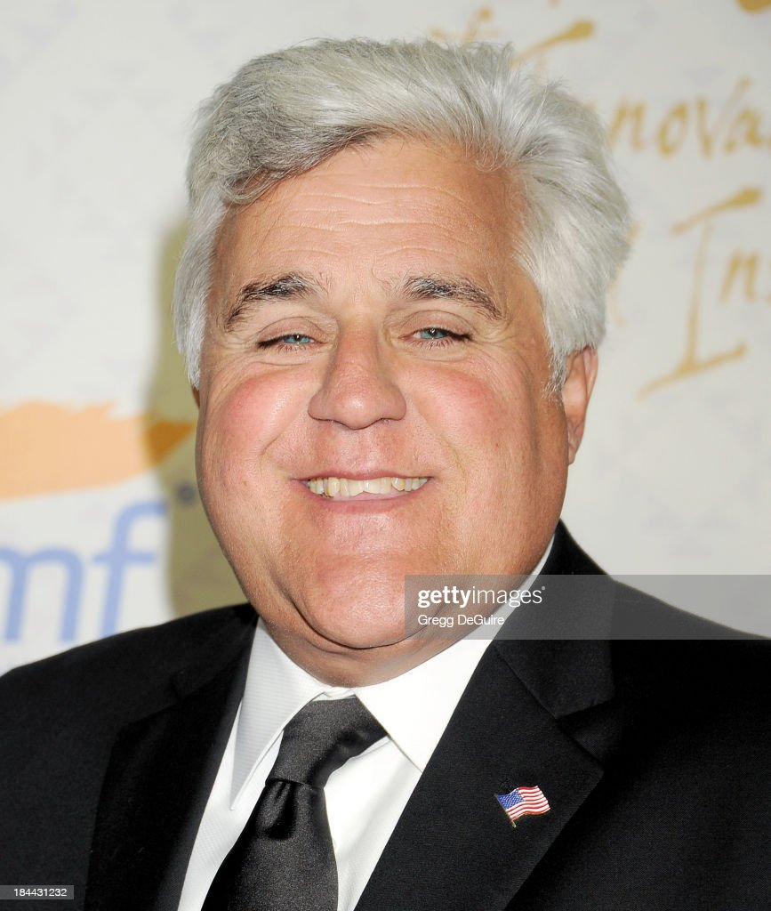 TV personality <a gi-track='captionPersonalityLinkClicked' href=/galleries/search?phrase=Jay+Leno+-+Television+Host&family=editorial&specificpeople=156431 ng-click='$event.stopPropagation()'>Jay Leno</a> attends the 10th Annual Alfred Mann Foundation Gala at 9900 Wilshire Blvd on October 13, 2013 in Beverly Hills, California.