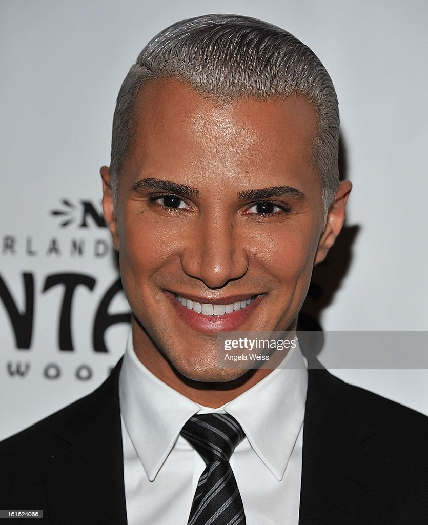 TV personality Jay Manuel arrives at the opening night of 'Jekyll & Hyde' held at the Pantages Theatre on February 12, 2013 in Hollywood, California.
