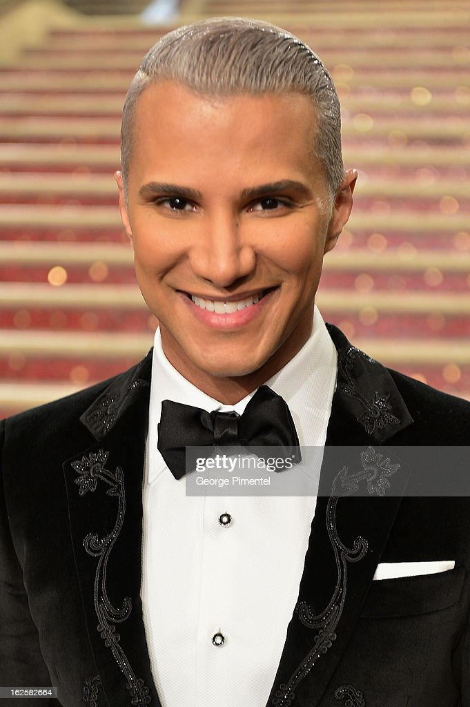 TV personality Jay Manuel arrives at the Oscars at Hollywood & Highland Center on February 24, 2013 in Hollywood, California.