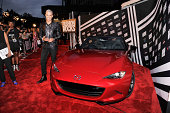 Personality Jay Manuel attends LG and Mazda at Fashion Rocks 2014 at the Barclays Center of Brooklyn on September 9 2014 in New York City
