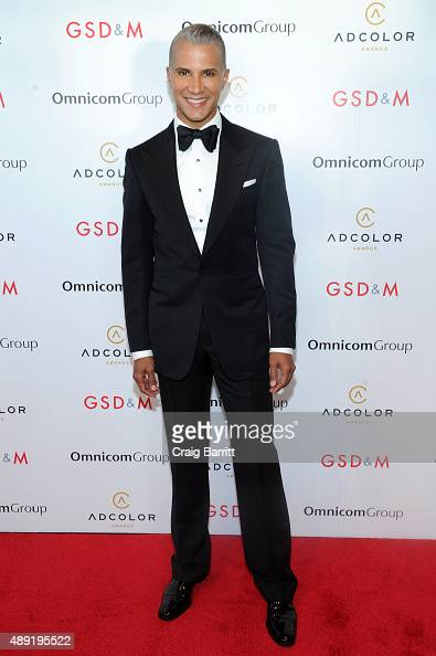Personality Jay Manuel attends the 9th Annual ADCOLOR Awards at Pier 60 on September 19 2015 in New York City