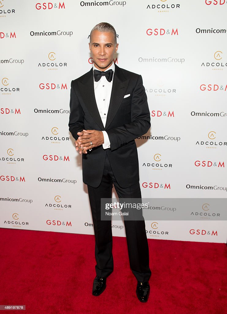 Personality Jay Manuel attends the 9th Annual ADCOLOR Awards at Pier Sixty at Chelsea Piers on September 19 2015 in New York City