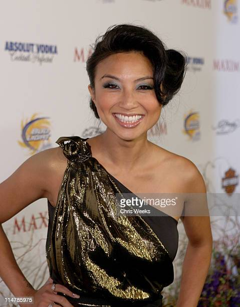 TV Personality Jeannie Mai arrives at the 11th annual Maxim Hot 100 Party with HarleyDavidson ABSOLUT VODKA Ed Hardy Fragrances and ROGAINE held at...