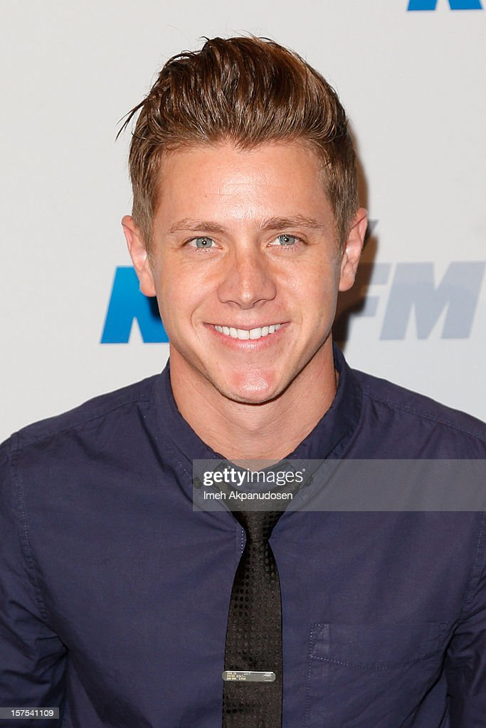 TV personality Jef Holm attends KIIS FM's 2012 Jingle Ball at Nokia Theatre L.A. Live on December 3, 2012 in Los Angeles, California.