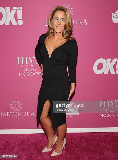 Personality Jenelle Evans attends OK Magazine's So Sexy NYC Event at HAUS Nightclub on May 13 2015 in New York City