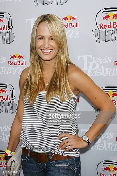 TV Personality Jenn Brown arrives to the XGames 'Red Bull Toasted' honoring Travis Pastrana held at Avalon on July 28 2009 in Hollywood California