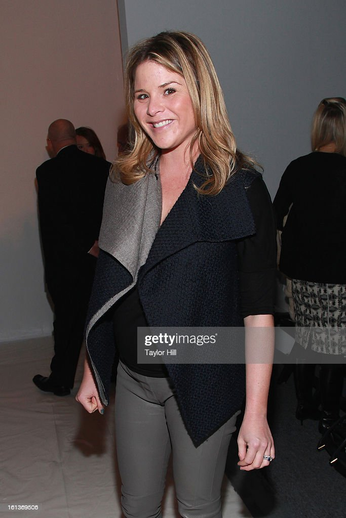 TV personality Jenna Hager attends the Lela Rose Fall 2013 Mercedes-Benz Fashion Show at The Studio at Lincoln Center on February 10, 2013 in New York City.
