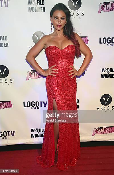 TV personality Jenni 'Jwoww' Farley attends Logo TV's Official Pride NYC 2013 Event at Highline Ballroom on June 30 2013 in New York City