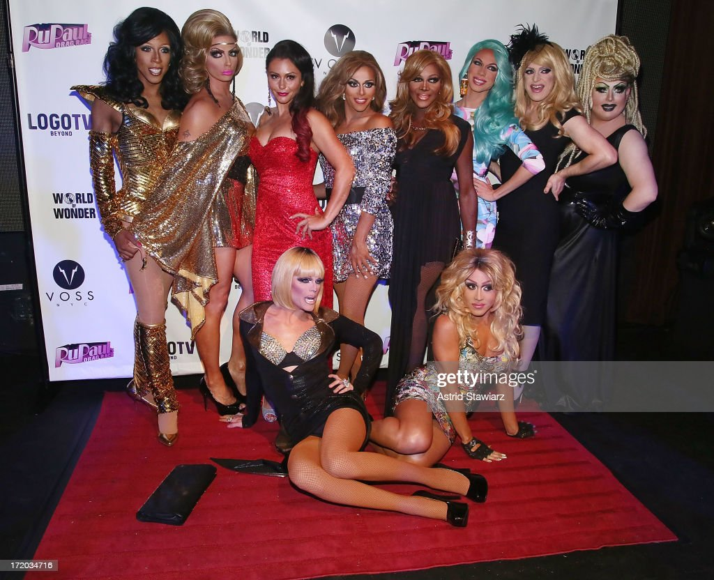 TV personality Jenni 'Jwoww' Farley (3rd from left) attends Logo TV's Official Pride NYC 2013 Event at Highline Ballroom on June 30, 2013 in New York City.
