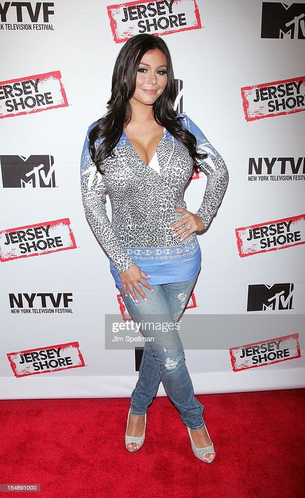 TV Personality Jenni 'JWoww' Farley attends 'Love, Loss, (Gym, Tan) and Laundry: A Farewell To The Jersey Shore' during the 2012 New York Television Festival at 92Y Tribeca on October 24, 2012 in New York City.