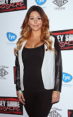 Personality Jenni 'JWoww' Farley attends the 'Jersey Shore Massacre' New York Premiere at AMC Lincoln Square Theater on August 19 2014 in New York...