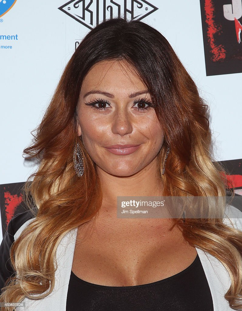 TV Personality Jenni 'JWoww' Farley attends the 'Jersey Shore Massacre' New York Premiere at AMC Lincoln Square Theater on August 19, 2014 in New York City.