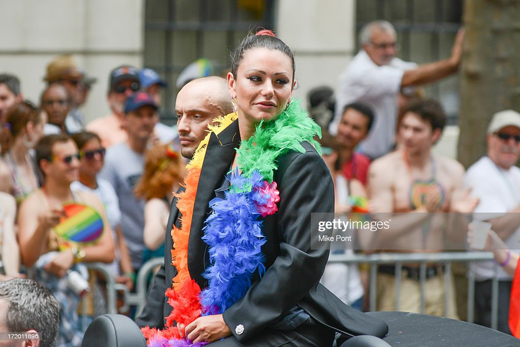 TV Personality Jenni 'JWoWW' Farley attends The March during NYC Pride 2013 on June 30, 2013 in New York City.