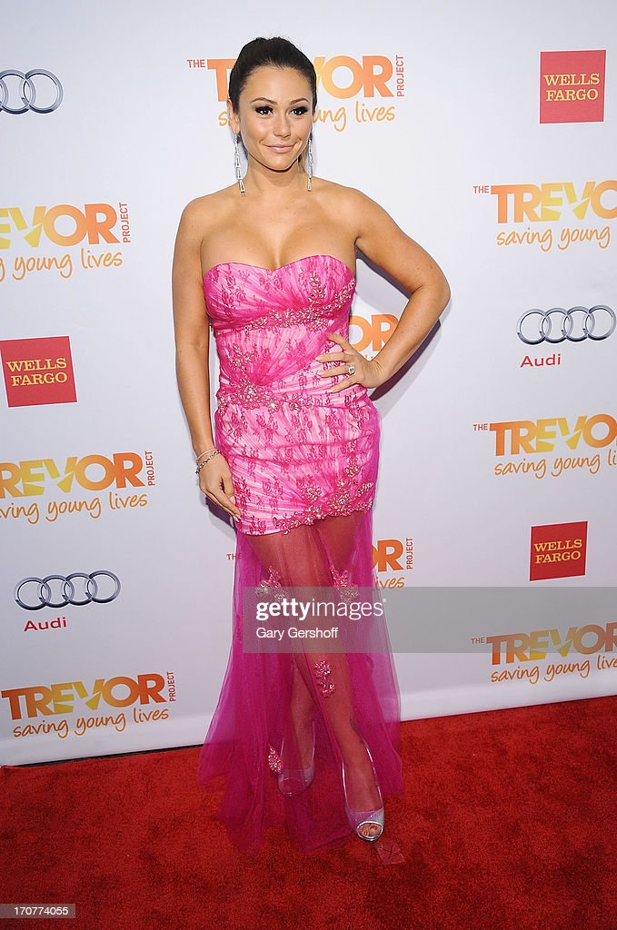 TV personality Jenni 'JWoww' Farley attends TrevorLIVE New York at Pier Sixty at Chelsea Piers on June 17, 2013 in New York City.