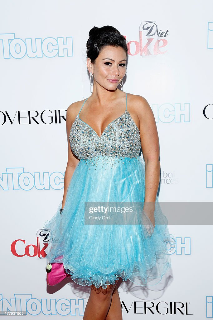 TV Personality Jennifer JWOWW Farley arrives at Intouch Weekly's 'ICONS & IDOLS Party' at FINALE Nightclub on August 25, 2013 in New York City.