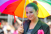 TV personality Jennifer 'JWoww' Farley attends The March during NYC Pride 2013 on June 30 2013 in New York City
