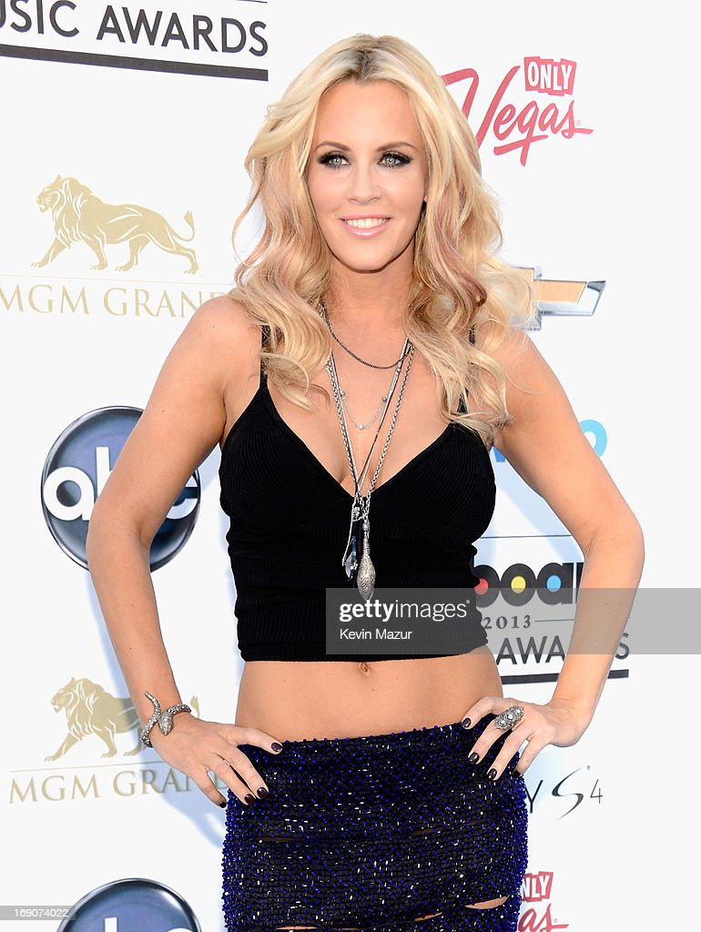 TV personality Jenny McCarthy arrives at the 2013 Billboard Music Awards at the MGM Grand Garden Arena on May 19, 2013 in Las Vegas, Nevada.
