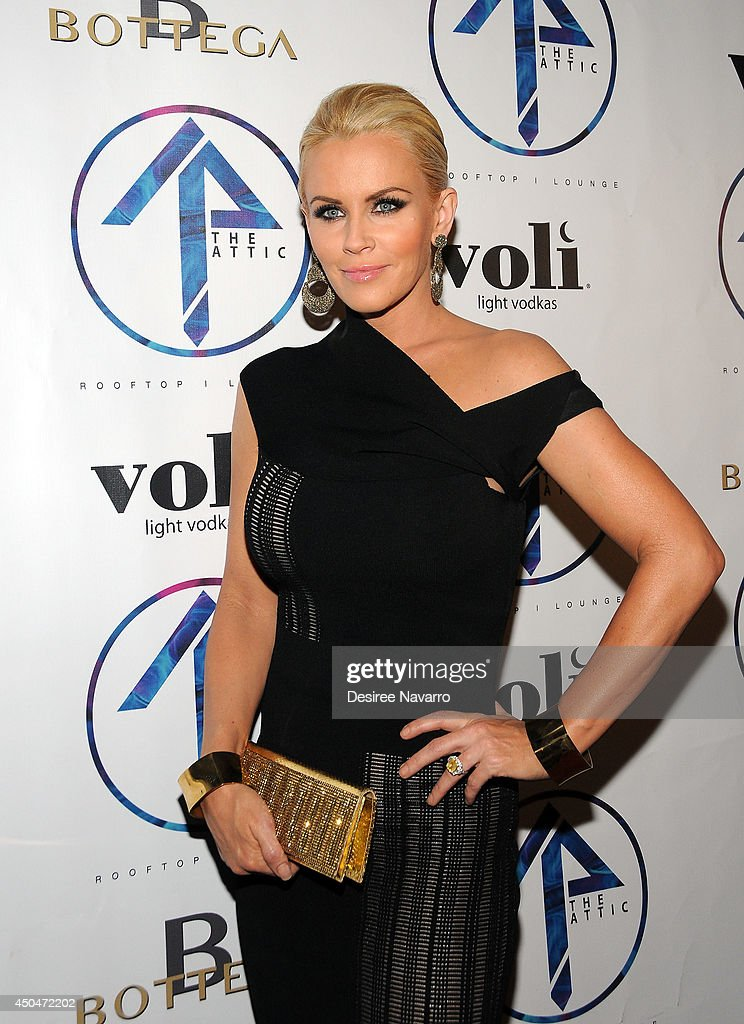 TV personality Jenny McCarthy attends the grand opening of The Attic Rooftop Lounge on June 11, 2014 in New York City.