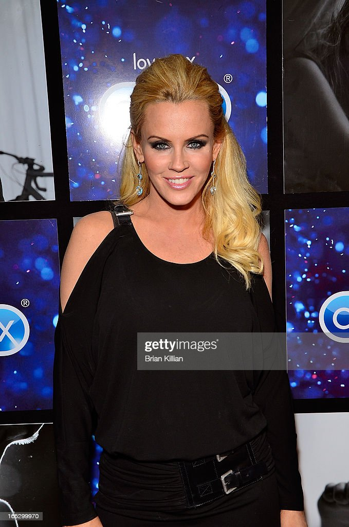 TV Personality <a gi-track='captionPersonalityLinkClicked' href=/galleries/search?phrase=Jenny+McCarthy&family=editorial&specificpeople=202900 ng-click='$event.stopPropagation()'>Jenny McCarthy</a> attends the Hotel Durex Charity Event Benefiting dance4life at Dream Downtown on April 2, 2013 in New York City.