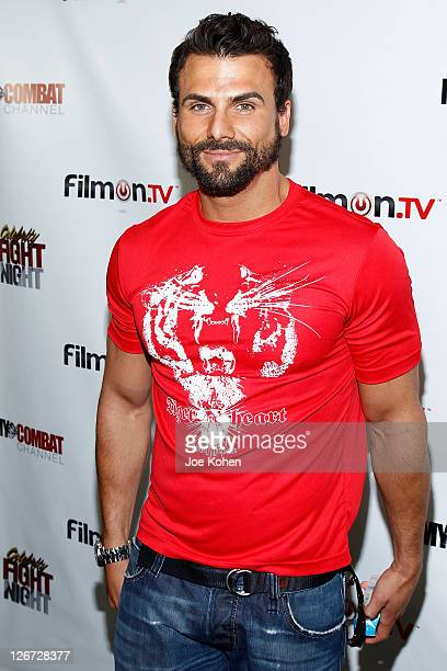TV personality Jeremy Jackson attends Celebrity Fight Night Official Press Conference on September 26 2011 in Beverly Hills California
