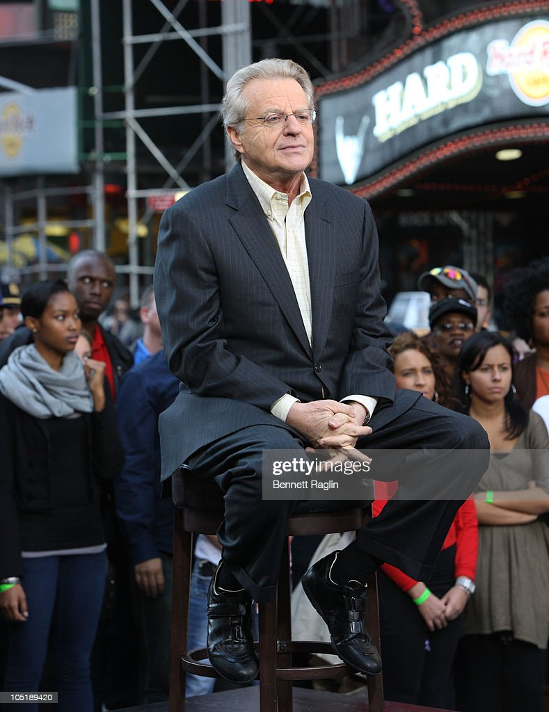 the jerry springer show essay Jerry springer is a former english-american democratic mayor of cincinnati, actor, news anchor, musician and best known for his talk show 'the jerry springer show.