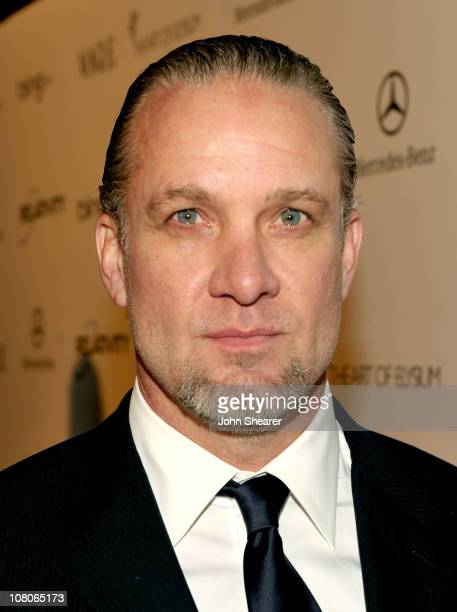 TV personality Jesse James arrive at the 2011 Art Of Elysium 'Heaven' Gala held at the California Science Center on January 15 2011 in Los Angeles...