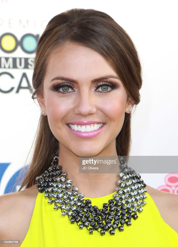 TV Personality Jessica Carrillo attends the 2012 Billboard Mexican Music Awards at The Shrine Auditorium on October 18, 2012 in Los Angeles, California.