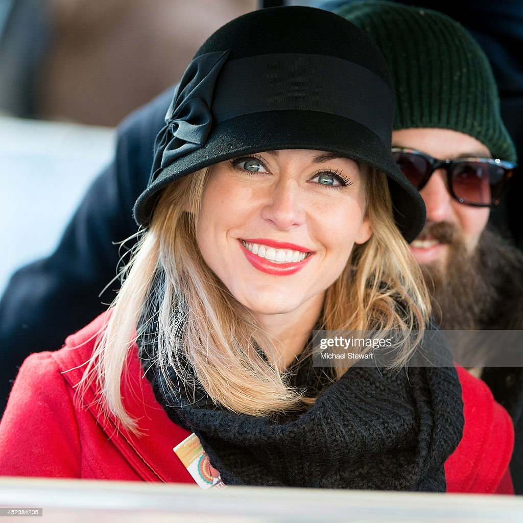 TV personality Jessica Robertson of Duck Dynasty attends the 87th annual Macy's Thanksgiving Day parade on November 28, 2013 in New York City.
