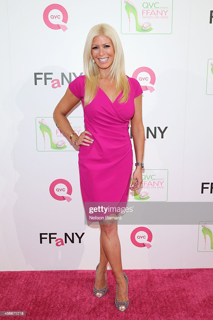 TV personality Jill Martin attends QVC presents 'FFANY Shoes on Sale' at Waldorf Astoria Hotel on October 8 2014 in New York City
