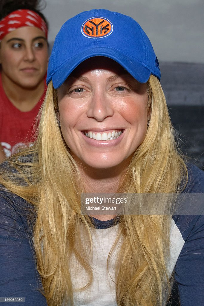 TV personality Jill Martin attends SoulCycle's Soul Relief Rides at SoulCycle Tribeca on November 11, 2012 in New York City.