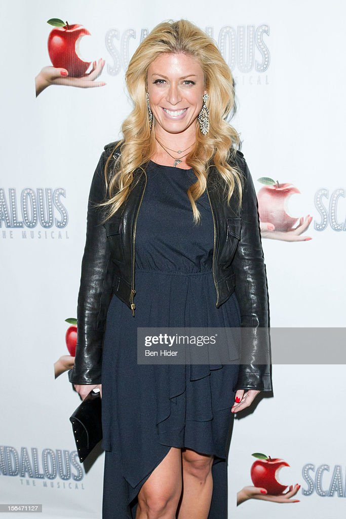 TV personality Jill Martin attends the 'Scandalous' Broadway Opening Nightat Neil Simon Theatre on November 15, 2012 in New York City.