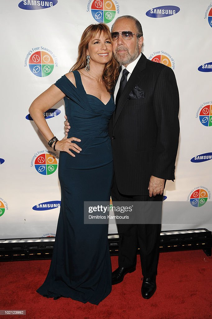 TV Personality Jill Zarin and Bobby Zarin attend Samsung's 9th Annual Four Seasons of Hope Gala at Cipriani Wall Street on June 15, 2010 in New York City.