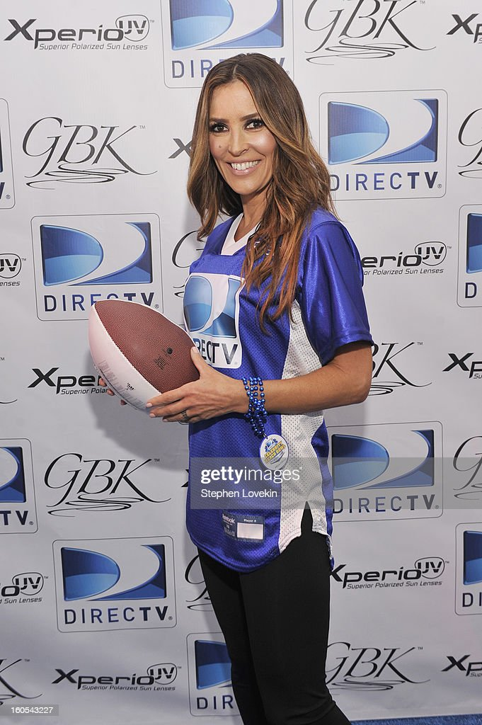 TV personality Jillian Barberie attends GBK and DirecTV Celebrity Beach Bowl Thank You Lounge at DTV SuperFan Stadium at Mardi Gras World on February 2, 2013 in New Orleans, Louisiana.