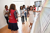 Personality Jillian Harris hosts the HGTV HOME by SherwinWilliams and Lowe's NYC Press Event on May 13 2015 in New York City