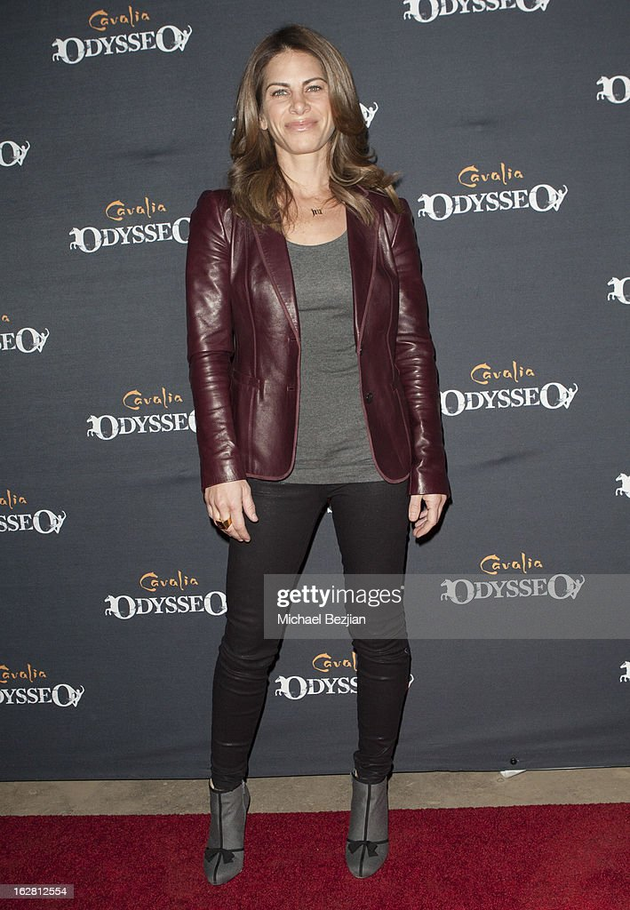 TV personality Jillian Michaels attends Celebrity Red Carpet Opening For Cavalia's 'Odysseo' at Cavalia's Odysseo Village on February 27, 2013 in Burbank, California.