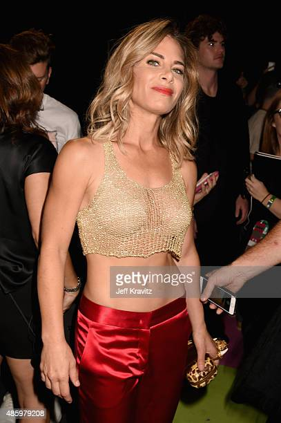 TV personality Jillian Michaels attends the 2015 MTV Video Music Awards at Microsoft Theater on August 30 2015 in Los Angeles California