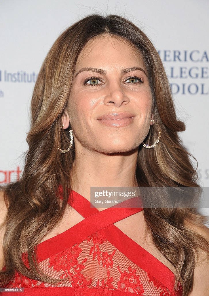 TV personality Jillian Michaels attends The Heart Truth's Red Dress Collection during Fall 2013 Mercedes-Benz Fashion Week at Hammerstein Ballroom on February 6, 2013 in New York City.