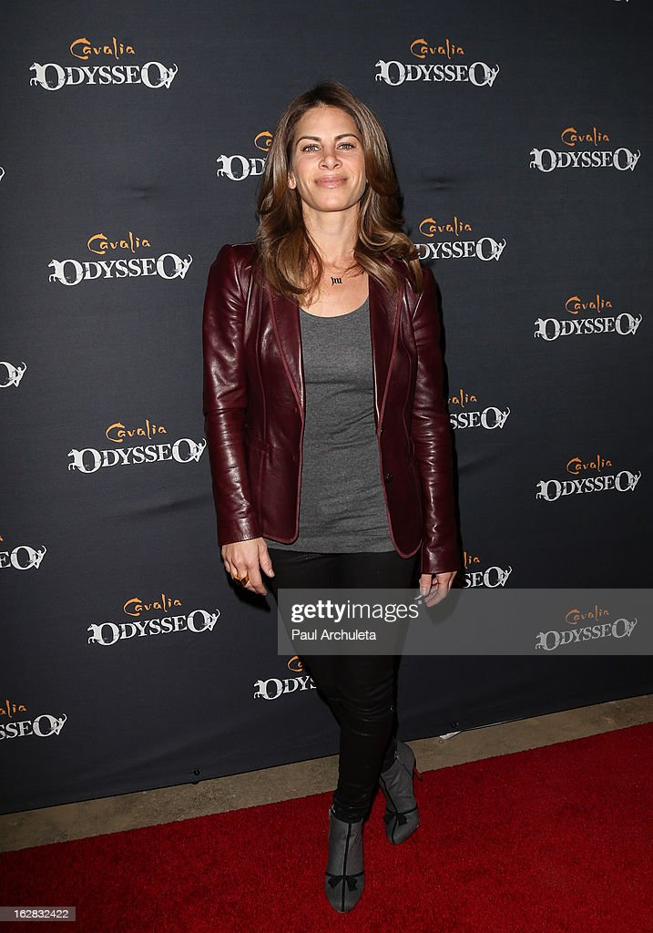 TV Personality Jillian Michaels attends the opening night for Cavalia's 'Odysseo' at the Cavalia's Odysseo Village on February 27, 2013 in Burbank, California.