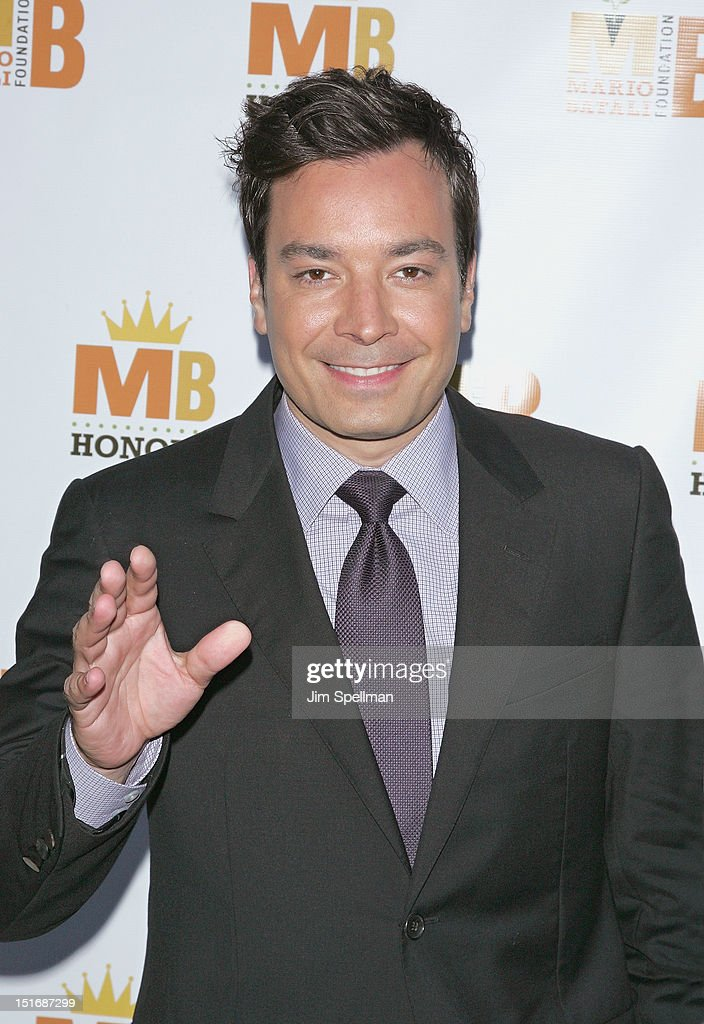 TV Personality Jimmy Fallon attends the 2012 Mario Batali Foundation Honors Dinner at Del Posto Ristorante on September 9, 2012 in New York City.