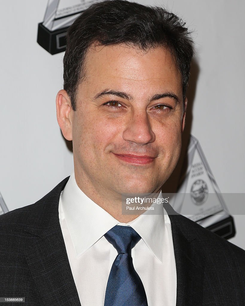 TV Personality Jimmy Kimmel attends the 2012 Media Access Awards at The Beverly Hilton Hotel on October 10, 2012 in Beverly Hills, California.